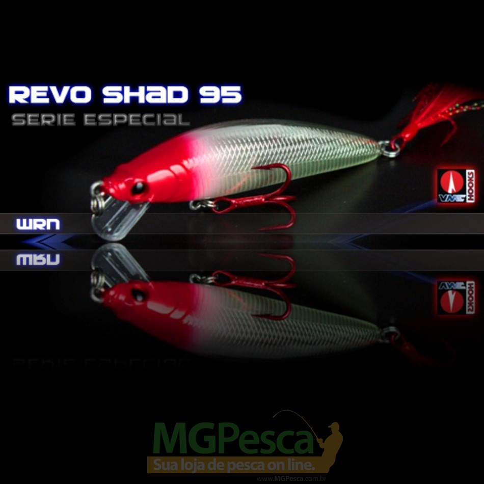 Isca Artificial Sumax Revo Shad 95  - MGPesca