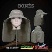 Chapéu Sumax com proteção UV e protetor de ombros - SB-1307V