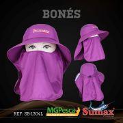 Chapéu Sumax com proteção UV e protetor de ombros - SB-1304L