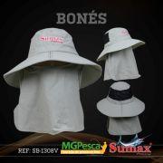 Chapéu Sumax com proteção UV e protetor de ombros - SB-1308V