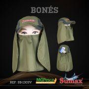 Boné Sumax com proteção UV e protetor de nuca f823be81b9d