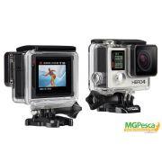 Camera GoPro Hero 4 Silver Edition - 12MP - Wi-Fi - Bluetooth - Full HD