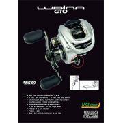 Carretilha Marine Sports Lubina GTO 10000 - Lan�amento
