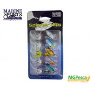 Isca Artificial Marine Sports Spinner Kit MSSP-A-2K5 - 5g - 05 unidades