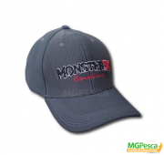 Boné Monster 3X Confort Line - Regulável - Cinza