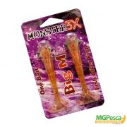 Isca Artificial Monster 3X Camarão Big M Ultrasoft 12cm