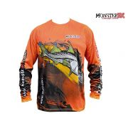 Camisa Monster 3X - Fish Collection - Robalo