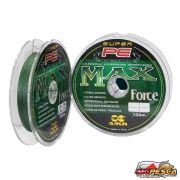 Linha Multifilamento Super PE Max Force 100% Fiber Maruri