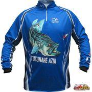 Camisa Faca na Rede Jersey Tucunaré Azul NC 21