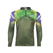 Camiseta King Sublimada - Brasil (KFF37)