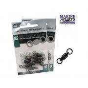 Girador Marine Sports com rolamento - Black Nickel