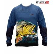 Camisa Monster 3X - New Fish Collection - Tucunaré Açu