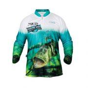 Camisa de Pesca JOGÁ - Tucunaré Azul - Proteção UV