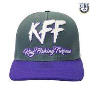 Boné King KFF - Roxo Telado