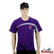 Camiseta Casual Sumax Algodão S-0247