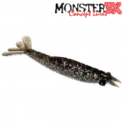 Isca Artificial Monster 3X Camarão Big M Ultrasoft 12cm Cor 023 Ferrinho