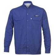 Camisa KING Antares com Proteção Solar Uv Ufp 50+ Cor Azul Marinho
