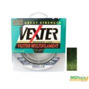 Linha Multifilamento Vexter X8 - 50LB - 0,35mm - 150m Verde Marine Sports