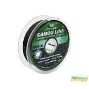 Linha Camou Line 100m  - 0,50mm - 70,4lb - Ottoni