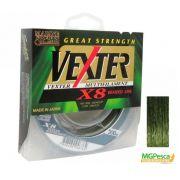 Linha Multifilamento Vexter X8 Verde 20lbs - 0,19mm - 300m - Marine Sports