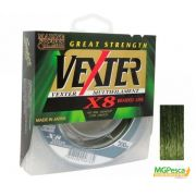 Linha Multifilamento Vexter X8 Verde 60lbs - 0,40mm - 300m - Marine Sports