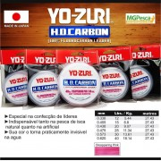 Leader Fluorcarbono Yo-zuri HD Carbon - 0,338mm - 12 Lbs