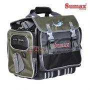 Bolsa de Pesca Sumax SM-905 - Acompanha 7 Estojos