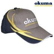 Boné Okuma Inspired Fishing Cinza com Azul 68345d12dbd