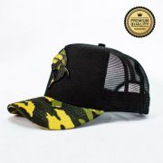 Boné Vida de Pescador - Premium Militar Green BPM 006