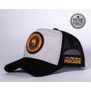 Boné Vida de Pescador - Prime Orange BPR 004