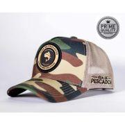 Boné Vida de Pescador - Prime Militar Hunter BPR 002