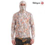 Camiseta Fishing co. Ninja Camuflado UPF50+ Selva Ref. 1041