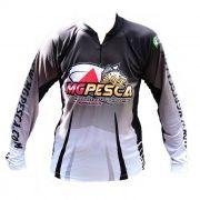 Camiseta ML MGPESCA Fator de proteção UV 30 43a737e6dc
