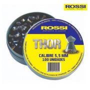 Chumbinho Rossi Thor 5,5mm - Latinha c/ 100 unidades