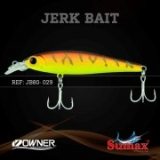 Isca Artificial Sumax Jerk Bait 80