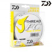 Linha Daiwa J-Thread FC Leader 100% Fluorocarbon 50m