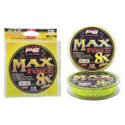 Linha Multifilamento Maruri Max Force 8x - 150 metros - Amarela