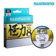 Linha Multifilamento Shimano Kairiki SX 8 - 150m Steel Gray (Cinza)