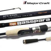 Vara para molinete Major Craft Basspara 6'3
