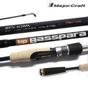 Vara para molinete Major Craft Basspara 6'6