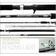 Vara para carretilha Sumax Kenzaki Light 30 Lbs - LKL-2402-C - 2,40m - 02 partes