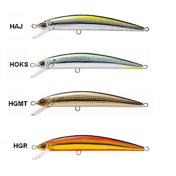 Isca Artificial Duel Hardcore Minnow Power 120 F - F946  - MGPesca
