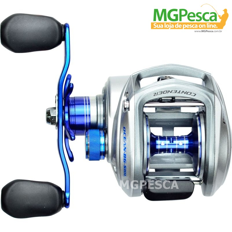 Carretilha Marine Sports New Contender GTO Ocean Big Game  - MGPesca