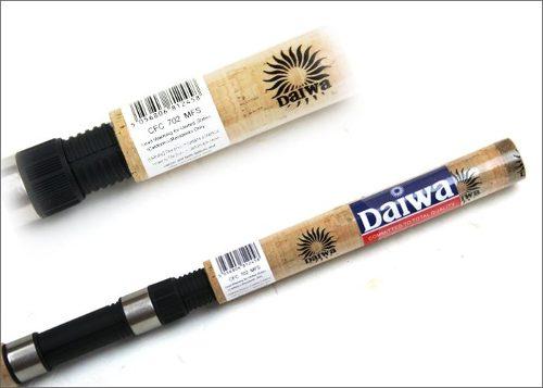 "Vara Daiwa Sweepfire 6"" (1,83m) 14Lbs - SWC 602MFS - 02 partes - para molinete  - MGPesca"