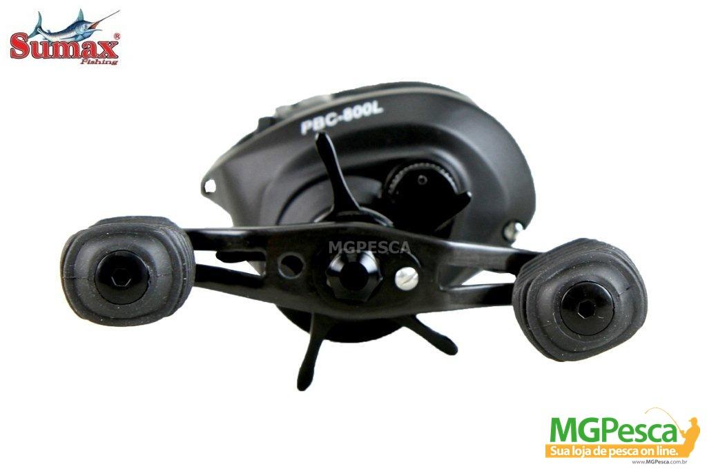 Carretilha Sumax Phanter Black Cast - PCB-800  - MGPesca