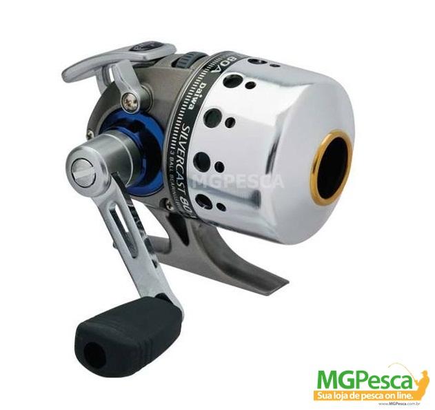Spincast Daiwa Silvercast - 80A  - MGPesca