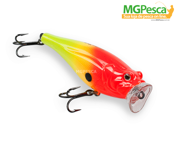 Isca Artificial Strike Pro Sea Monster 80 (Idêntica Fat Pop 80) - MGPesca