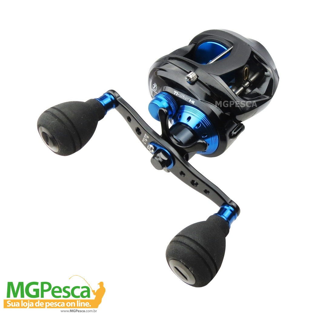 Carretilha Marine Sports Titan SW Big Game - MGPesca