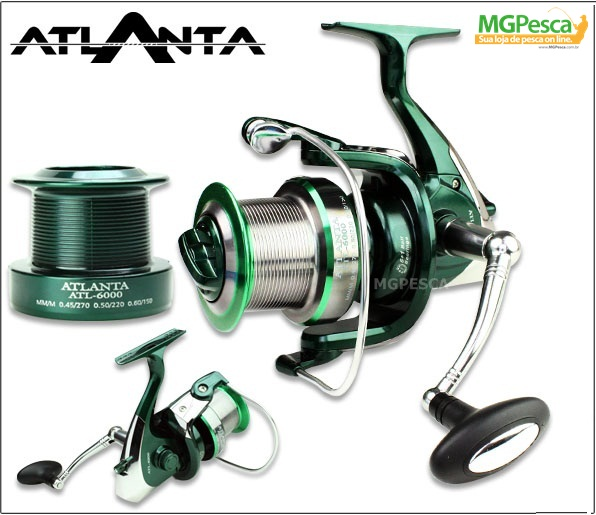Molinete Sumax Atlanta ATL-6000 Long Cast  - MGPesca