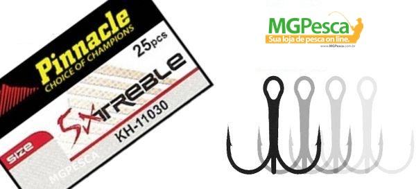 Garatéias Pinnacle 5X Treble - kh-11030  - MGPesca